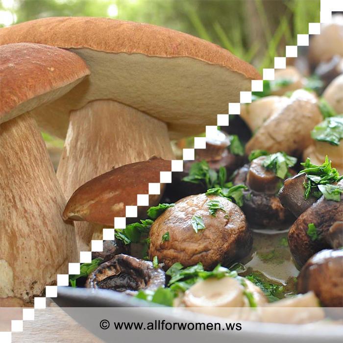 2 рецепта из грибов на второе