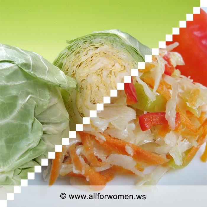 2 рецепта из капусты: острая со свеклой, с паприкой