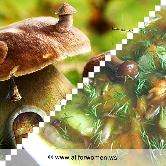 2 супа из грибов