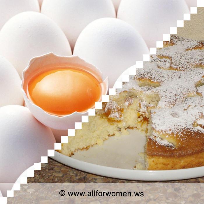 Яйца под соусом и яичный пирог