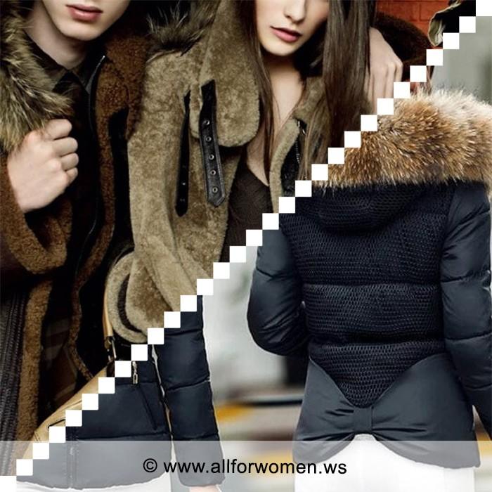 Модные женские куртки зима 2012-2013. Немного нежности