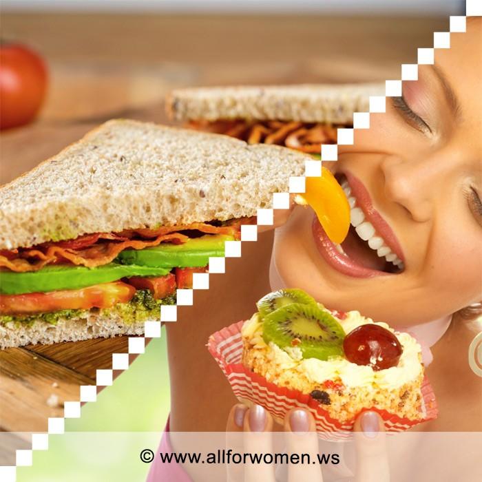 Бутерброды для стройной фигуры