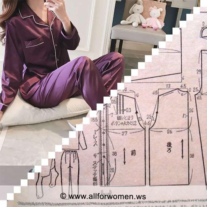 Как сшить пижаму женскую